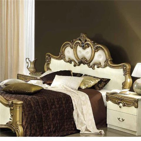 Barocco Ivory & Gold Range - Italian Bedroom Furniture
