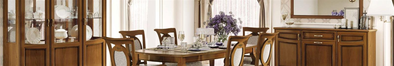 Fantasia - Walnut - Classic Italian Dining Room Furniture