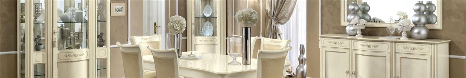 Torriani Day - Ivory - Classic Italian Dining Room Furniture