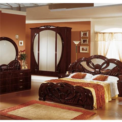Giada Mahogany - Classic Italian Bedroom Furniture