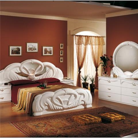 Giada White  - Classic Italian Bedroom Furniture