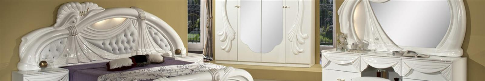 Gina White - Classic Italian Bedroom Furniture