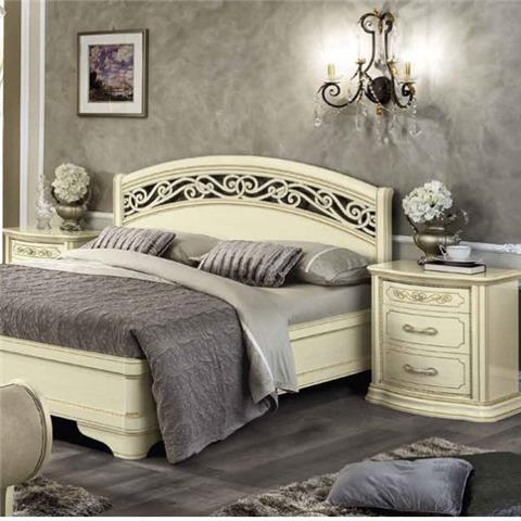 Torriani Night Ivory Range - Italian Bedroom Furniture