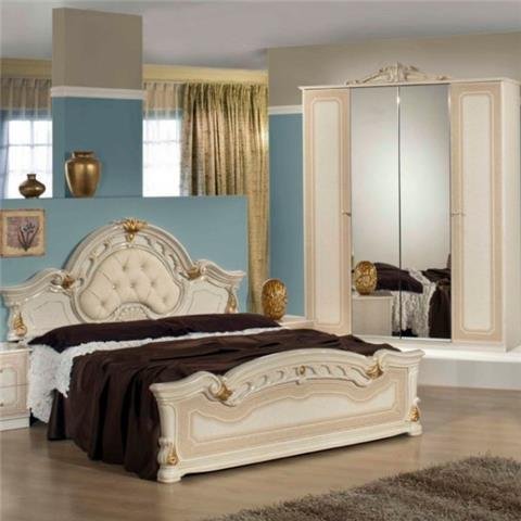Stella Beige - Classic Italian Bedroom Furniture