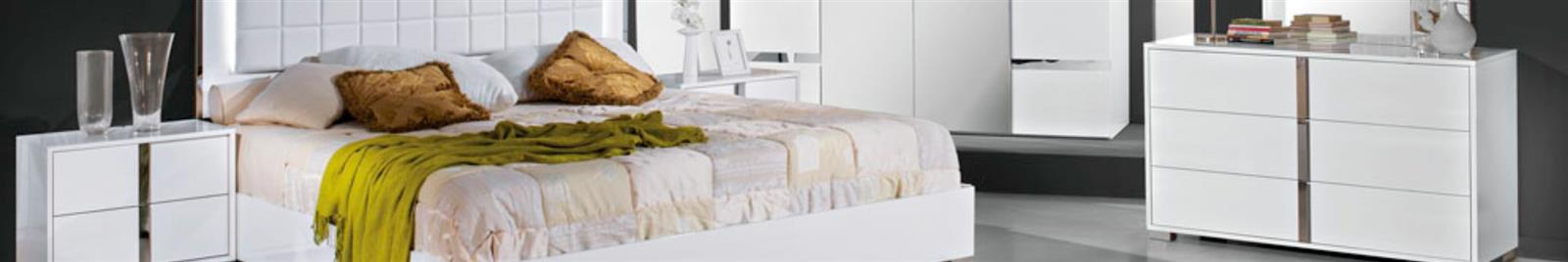 San Marino White - Modern Bedroom Furniture