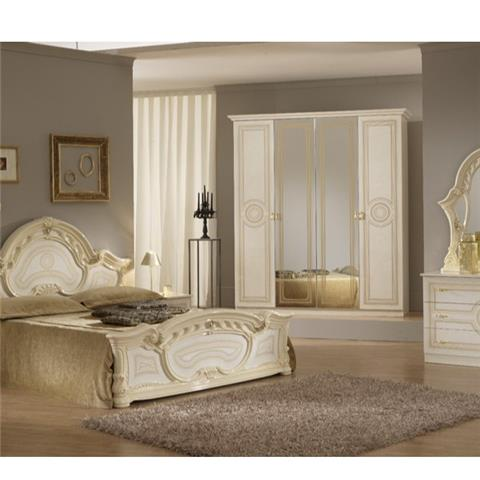 Sara Beige  - Classic Italian Bedroom Furniture