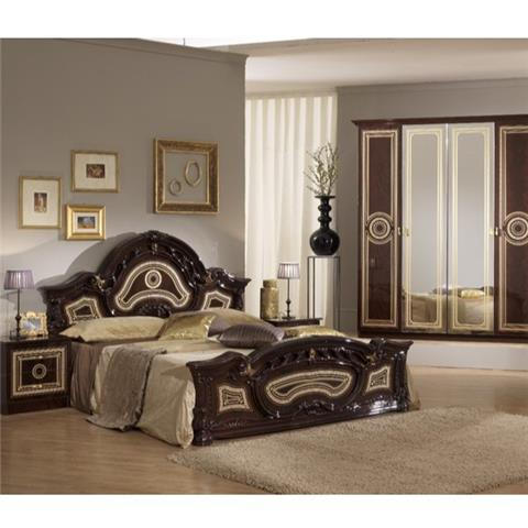 Sara Mahogany  - Classic Italian Bedroom Furniture