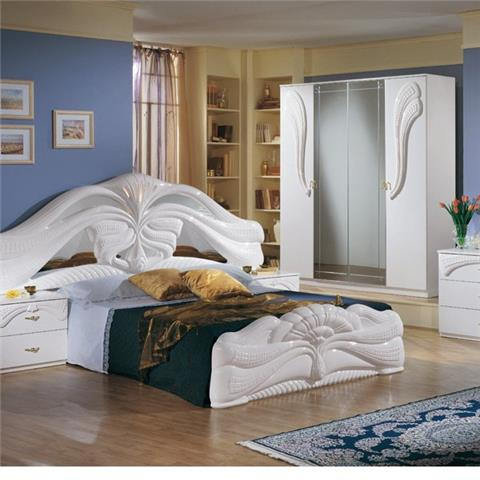 Silvia White - Classic Italian Bedroom Furniture