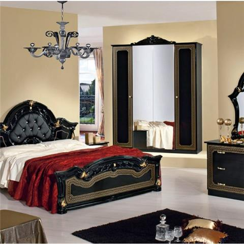 Stella Black - Classic Italian Bedroom Furniture