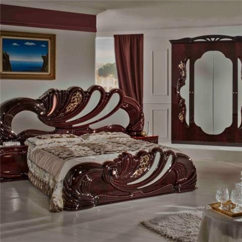 Vanity Mahogany - Classic Italian Bedroom Furniture