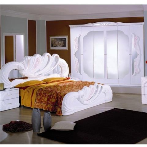 Vanity White & Pink - Classic Italian Bedroom Furniture