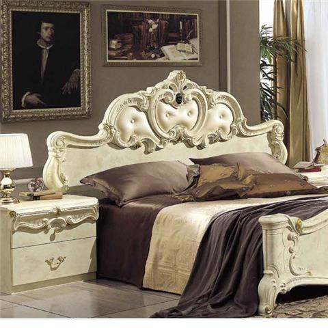Barocco Ivory Range - Italian Bedroom Furniture