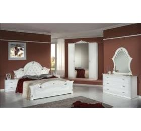 Stella Italian White 4 Door Bedroom Package