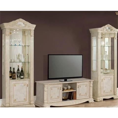 H2O Design Elizabeth Beige Marble Effect TV Unit