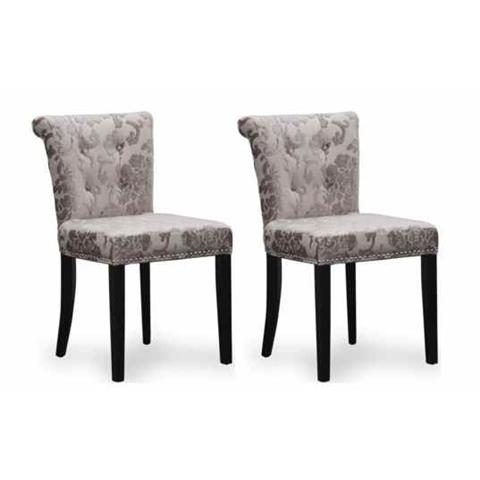 Shankar Mink Sandringham Baroque Dining Chair (Pair)