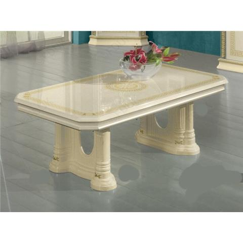 Ben Company New Venus Beige and Gold Italian Coffee Table