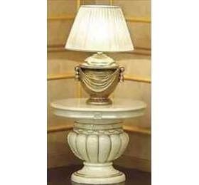 Leonardo Italian Cream Lamp Table