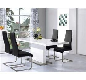 CHAFFEE HIGH GLOSS DINING SET