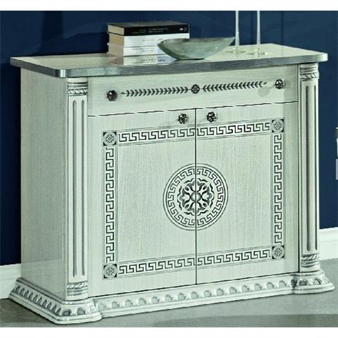H2O DESIGN AURORA WHITE-SILVER 2 DOOR SIDEBOARD