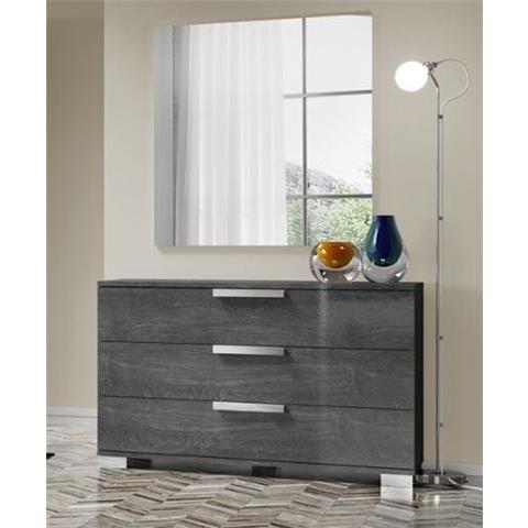 Sarah Grey Birch Chest of Drawers