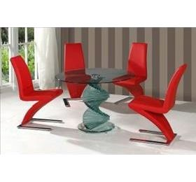 CORDOBA CLEAR - RED ANKARA CHAIRS