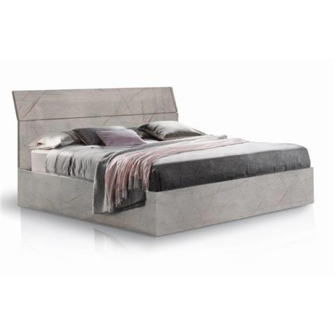 Mary Grey Marble 160cm Bedframe