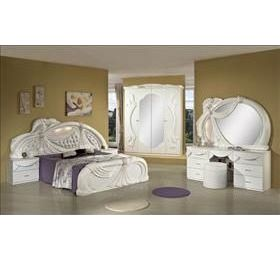 Gina Italian White Bedroom Collection
