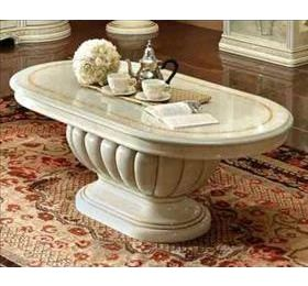 Leonardo Cream Italian Coffee Table