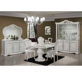 Prestige White Highgloss 3 Door Sideboard