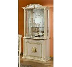 Rossella Italian Cream & Gold 2 Door Wall Unit