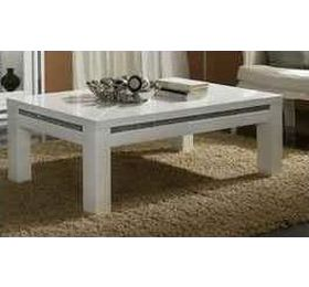 Prestige White Diamante Coffee Table