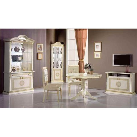 Venus Cream & Gold 2 Door Wall Unit