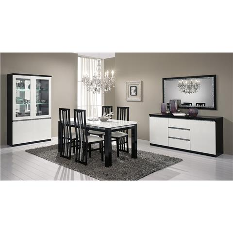Roma Highgloss 2 Door Wall Unit