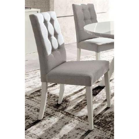 Camel Roma Day Dama White Mojito Fabric Italian Dining Chair