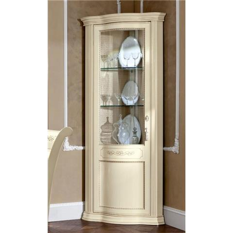 Torriani Day Ivory Italian Left Corner Unit with LED Light