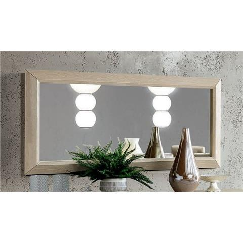 Camel Elite Day Sand Birch Italian Rectangular Mirror - 159cm x 79cm