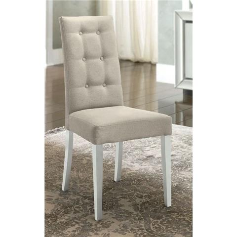 Camel Dama Italian Fabric Dining Chair