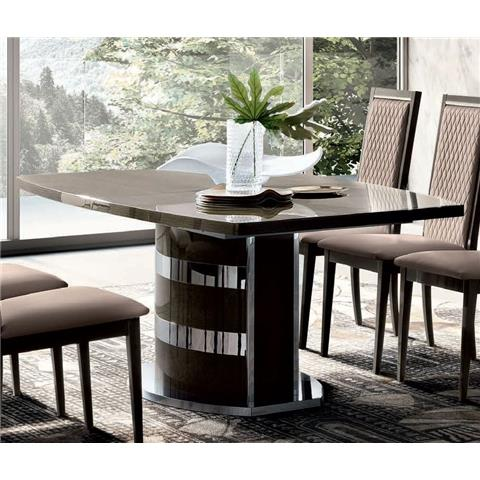 Camel Elite Day Italian Extending Dining Table with Pedestal Base