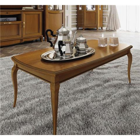 Camel Fantasia Day Walnut Italian Coffee Table