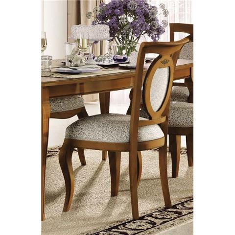Camel Fantasia Day Walnut Italian Dining Chair