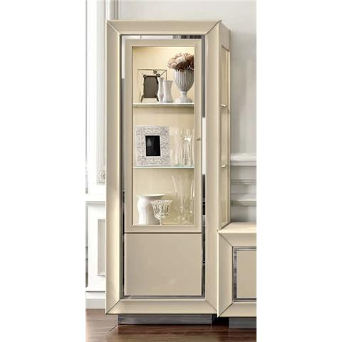 Camel La Star Day Italian Ivory Display Cabinet