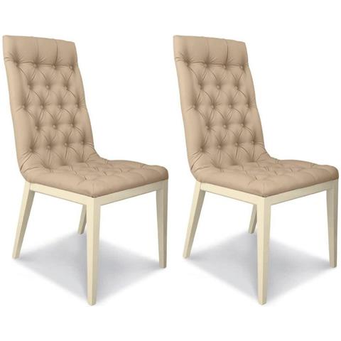 Camel La Star Day Italian Ivory Dining Chair