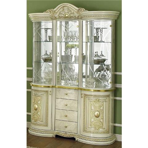 Camel Leonardo Italian Medium China Cabinet