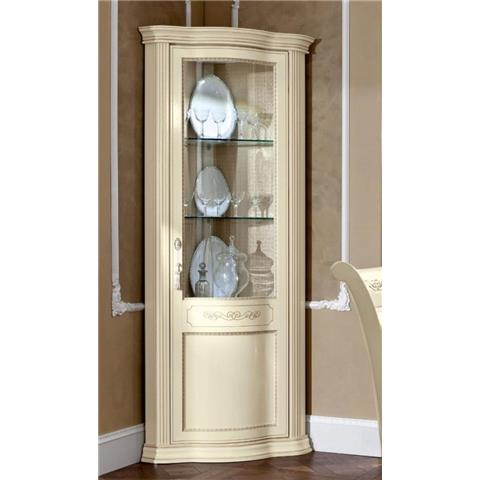 Torriani Day Ivory Italian Right Corner Unit with LED Light