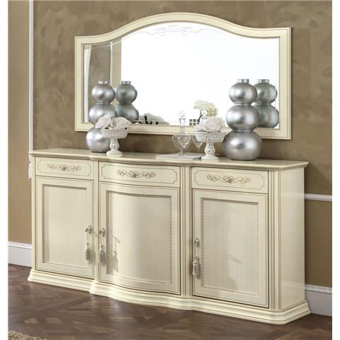 Torriani Day Ivory Italian Buffet Sideboard