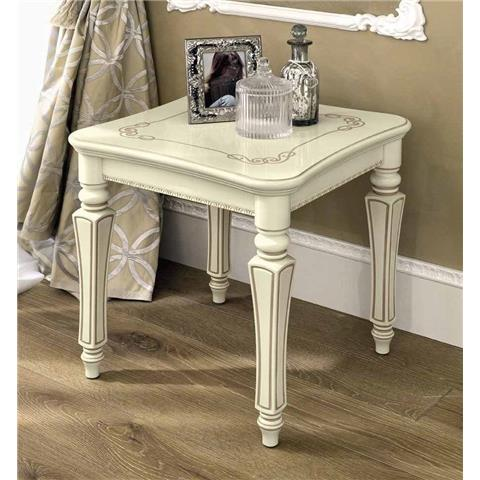 Torriani Day Ivory Italian Lamp Table