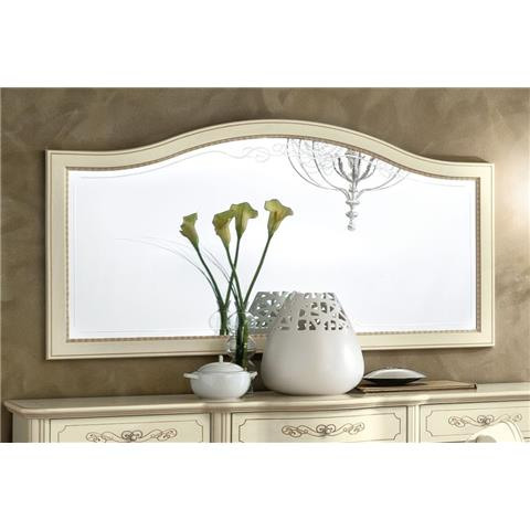 Torriani Day Ivory Italian Mirror - 160cm x 87cm