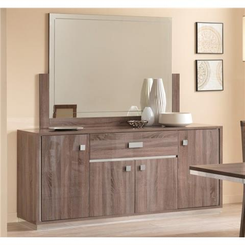 SAN MARTINO VICTOR OAK 4 DOOR SIDEBOARD