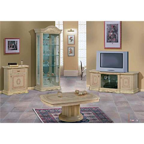 Amalfi Italian Cream & Gold Plasma TV Unit