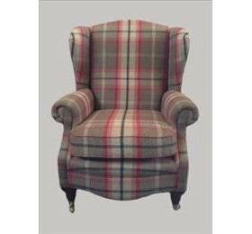 Jade The Kingsbury Large Wing Chair